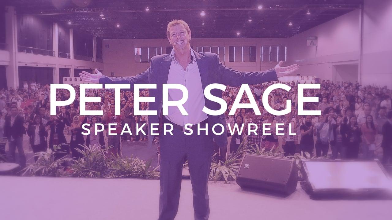 Peter Sage – Speaker Shwowreel