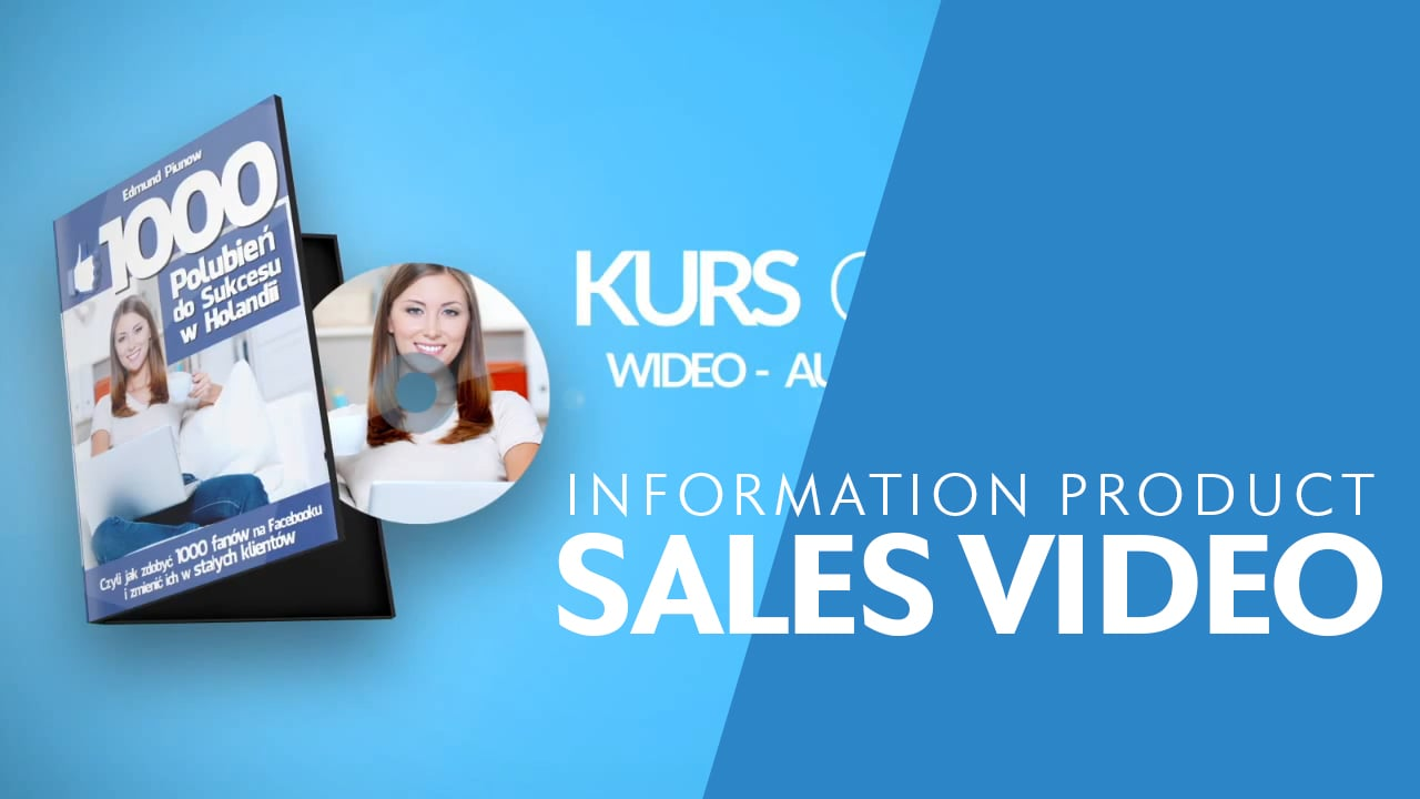 Information Product Promo Video