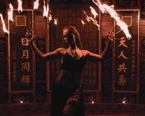 Monja – Fire Dance Video (Hong Kong)